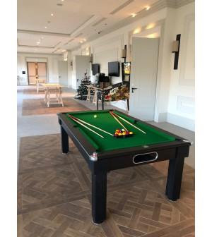 billard Sorento Noir 7 foot drap vert type pool anglais