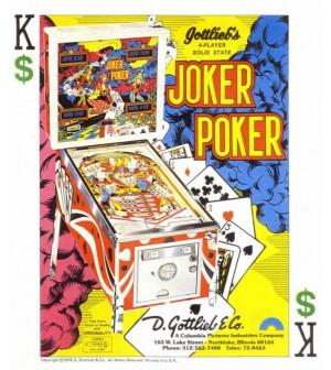 Schéma numérique joker poker (Gottlieb)